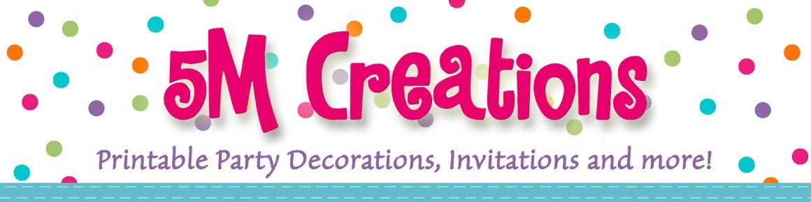 FREE Rescue Bot Birthday Party Decorations Ideas 5M Creations Blog