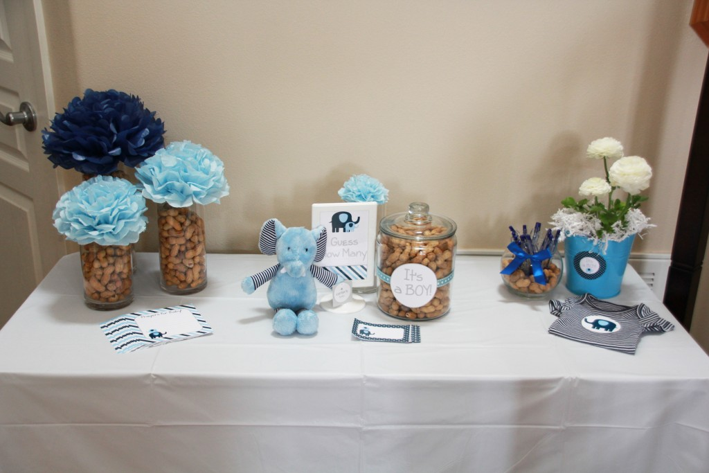 Elephant Baby Shower by 5M Creations