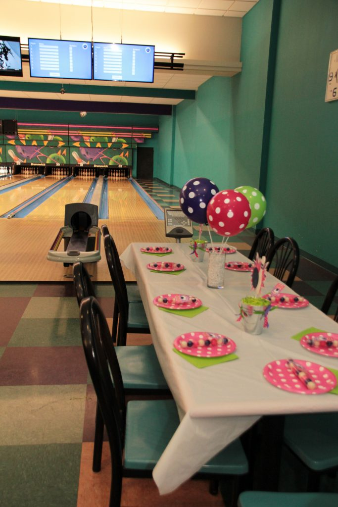 Girl Bowling Party Printable Party Package by 5M Creations