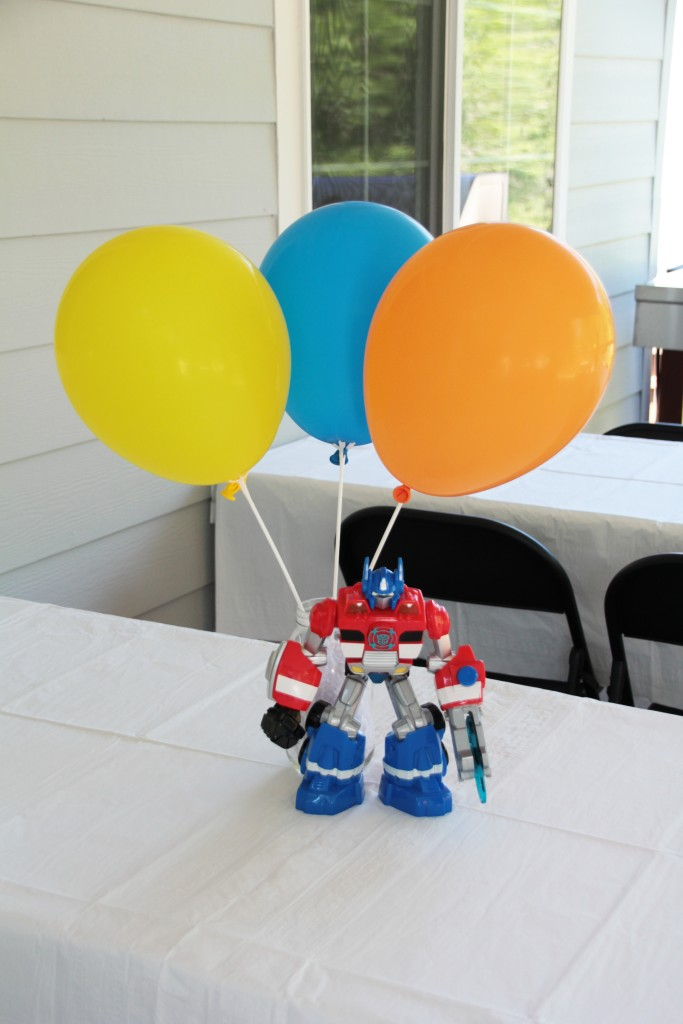Rescue Bot Centerpiece
