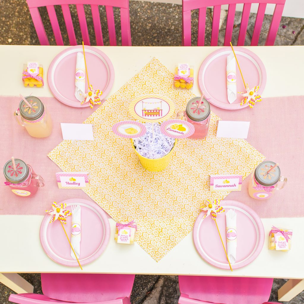 Lemonade Stand Party 5m Creations Blog