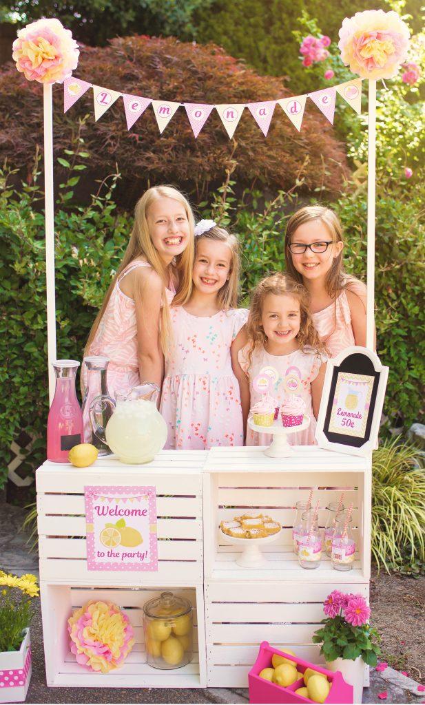 Girl Birthday Party 5m Creations Blog
