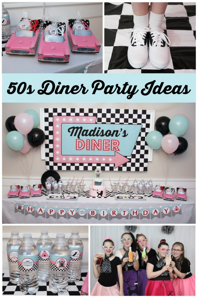 50 S Diner Birthday Party 5m Creations Blog