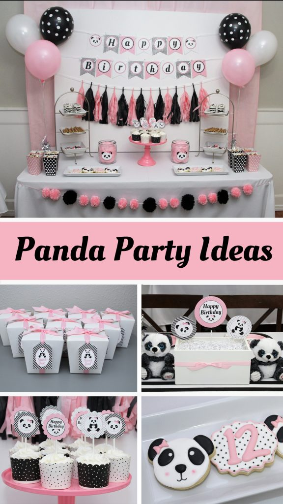 Pandas Have Been Everywhere This Last Year My Tween Daughter Fell In Love With Them So We Decided It Was The Perfect Theme For Her 12th Birthday